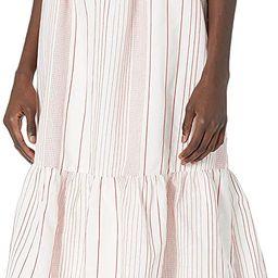 Sugar Lips Women's Voyager Striped Cut Out Maxi Dress | Amazon (US)
