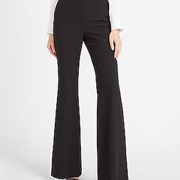 Super High Waisted Supersoft Twill Side Tab Flare Pant | Express