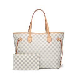 TWENTY FOUR Women Handbag Checkered Shoulder Bag Tote Fashion Casual Bag -Leather, walmart finds   Walmart (US)