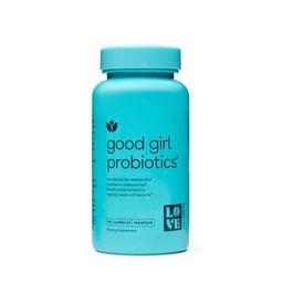 Love Wellness Good Girl Probiotic Dietary Supplements - 60ct | Target