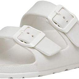 CUSHIONAIRE Women's Elane EVA Comfort Footbed Sandal with +Comfort   Amazon (US)