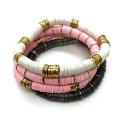 Heishi Disc Bracelet Stack (Set of 4)   Sea Marie Designs