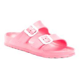Double Buckle Slide Sandals   TJ Maxx