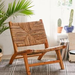 Claudia Woven Chair | Urban Outfitters (US and RoW)