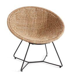 Indoor Woven Papasan Chair | Pottery Barn (US)