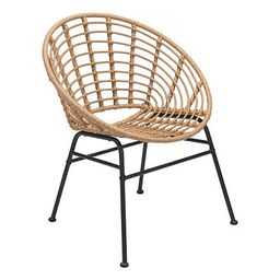 Natural Woven Outdoor Dining Chairs, Set of 2 | Kirkland's Home