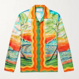 Multi Camp-Collar Printed Silk-Twill Shirt | CASABLANCA | MR PORTER | Mr Porter (UK)
