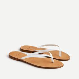 Capri sandals in leather | J.Crew US