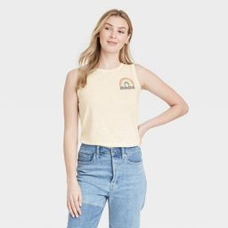 Women's Mother's Day Mama Rainbow Graphic Tank Top - Off-White | Target