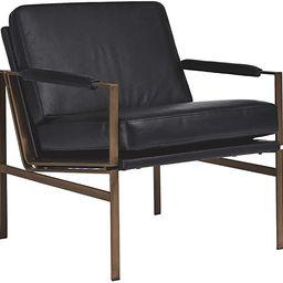 Ashley Furniture Signature Design Puckman Accent Chair, Black   Amazon (US)
