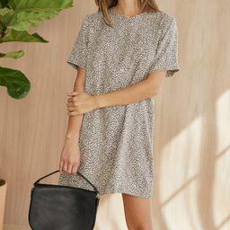 Leopard T-Shirt Dress - Leopard | Jenni Kayne | Jenni Kayne
