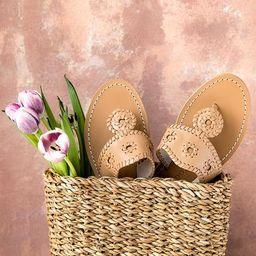 Jacks Natural Flat Sandal | Jack Rogers