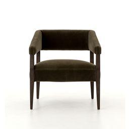 Angled Arm Club Chair | West Elm (US)