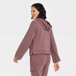 Women's Bell Sleeve Hooded Sweatshirt - All in Motion™ | Target