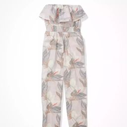AE Printed Tube Jumpsuit | American Eagle Outfitters (US & CA)