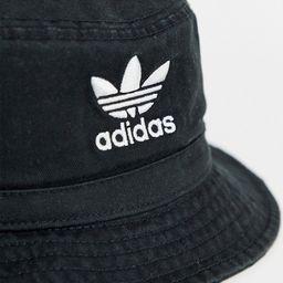 adidas Originals logo bucket hat in black   ASOS (Global)