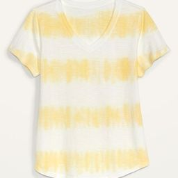 EveryWear Printed V-Neck Tee for Women   Old Navy (US)