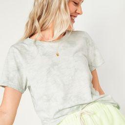 EveryWear Printed Slub-Knit Tee for Women   Old Navy (US)