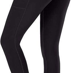 Ewedoos Women's Yoga Pants with Pockets - Leggings with Pockets, High Waist Tummy Control Non See... | Amazon (US)