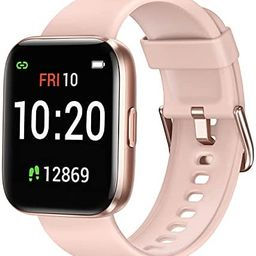 Letsfit Smart Watch for Android Phones Compatible with iPhone Samsung, Fitness Tracker with Blood... | Amazon (US)