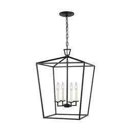 Berneau 4 - Light Lantern Square Chandelier   Wayfair North America