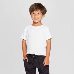 Toddler Boys' Short Sleeve Solid T-Shirt - Cat & Jack™   Target