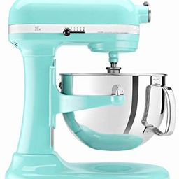 KitchenAid Professional 600 Stand Mixer 6 quart, Ice (Renewed)   Amazon (US)