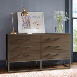 Costales 6 Drawer Dresser   Wayfair North America