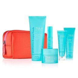 skincare essentials routine kit   Tula Skincare