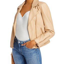 Faux Leather Moto Jacket   Bloomingdale's (US)