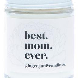 Ginger June Candle Co Best. Mom. Ever. Large Jar Candle   Nordstrom   Nordstrom