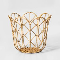 Tulip Shaped Woven Basket - Pillowfort™ | Target