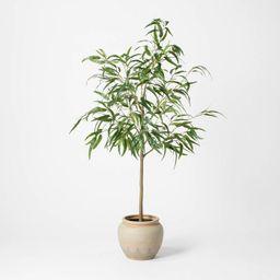 "73"" Artificial Weeping Eucalyptus Tree in Pot - Threshold™   Target"