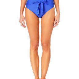Time and Tru Women's and Women's Plus Size Cabana Waist Tie Swim Bottom | Walmart (US)