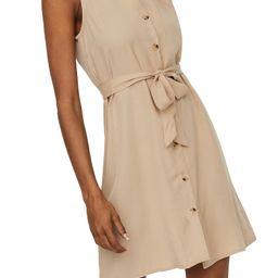 Viviana Sleeveless Tie Waist Dress | Nordstrom