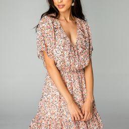 Trixy Ruffled Mini Dress - Bouquet | BuddyLove