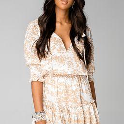 Bronx Elastic Waist Mini Dress - Cowhide   BuddyLove