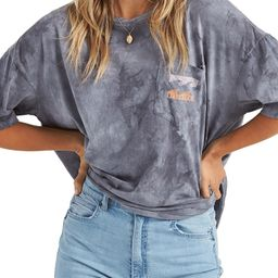 Rough Waves Oversize Graphic Tee | Nordstrom