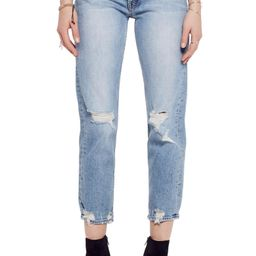 The Tomcat Ripped Crop Straight Leg Jeans | Nordstrom