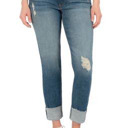 Catherine Ripped Cuff Boyfriend Jeans | Nordstrom