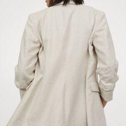 Linen-blend Jacket | H&M (US)