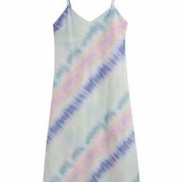 'Oli' Tie-dye V-neck Midi Dress   Goodnight Macaroon