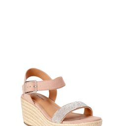 Time and Tru Women's One Strap Demi Wedge Sandals   Walmart (US)
