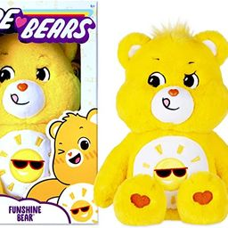 Care Bears Funshine Bear Stuffed Animal, 14 inches | Amazon (US)