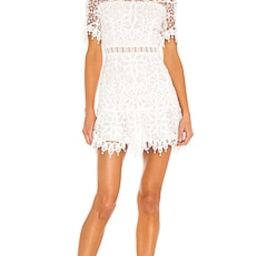 SAYLOR Vreni Mini Dress in White from Revolve.com   Revolve Clothing (Global)