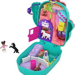Polly Pocket Pocket World Cactus Cowgirl Ranch Compact with Fun Reveals, Micro Polly and Shani Do... | Amazon (US)