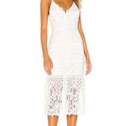 Lovers + Friends Tilly Midi Dress in White from Revolve.com   Revolve Clothing (Global)