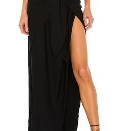 Indah Culture Maxi Skirt in Black from Revolve.com | Revolve Clothing (Global)