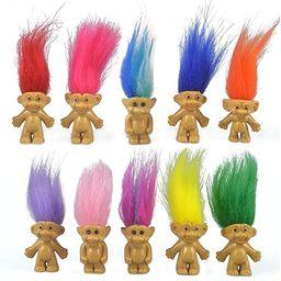 "10PCS Mini Troll Dolls, PVC Vintage Trolls Lucky Doll Mini Action Figures 1.2"" Cake Toppers Chrom... | Amazon (US)"