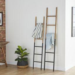 Wood And Metal Blanket Ladder   Wayfair North America